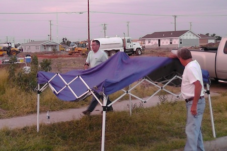 Work Site Tent
