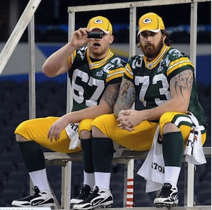Green Bay Packers O Line