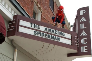 Spiderman in Elmwood IL Palace