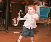 Young Sax