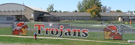 Elmwood Trojans High School IL