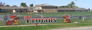Elmwood IL Trojans Brimfield Whiteny Field
