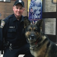 Harry mcFall Elmwood IL Bullet Police Dog