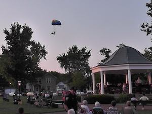 Sunday Concert Fly By Elmwood IL